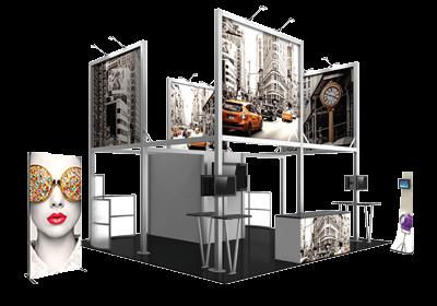 Portable Exhibition Lighting : Lighting for trade show booths & displays exhibitors handbook